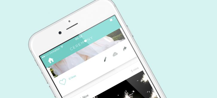 Ceremony app review - Photo apps for weddings